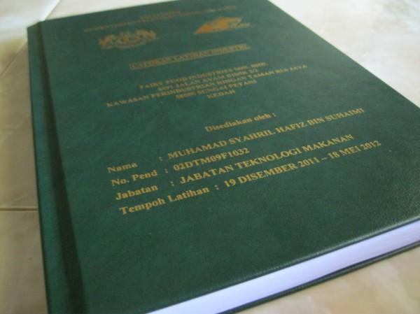 Hard Cover, Jilid Buku, Buku Laporan Kulit