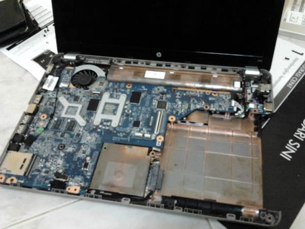 cara Buka Casing Laptop, Bersih Kipas Laptop, Cara Bersih Kipas Laptop, HP G42
