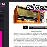 Oh! Media FM,Muzik Tanpa Henti Dilancarkan Dengan Rasminya