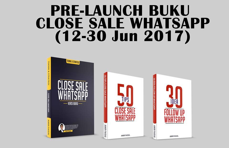 cara close sale, close sale whatsapp